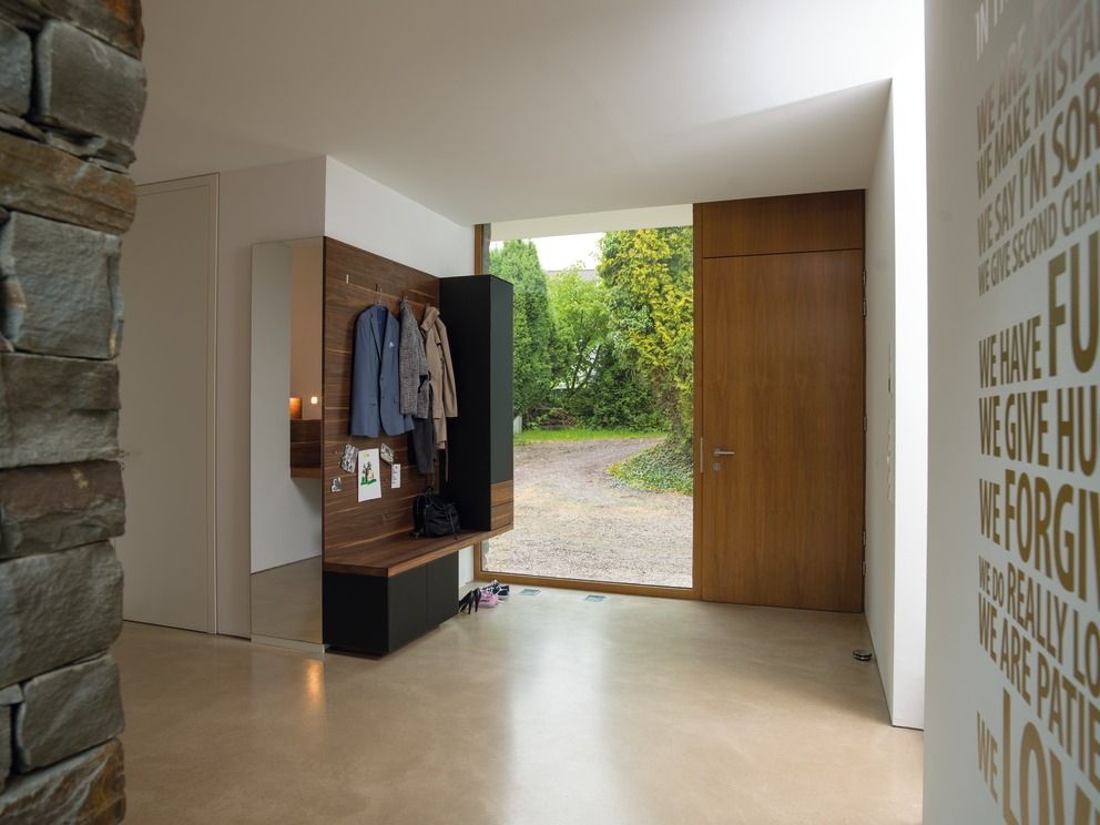 diele garderobe. Black Bedroom Furniture Sets. Home Design Ideas